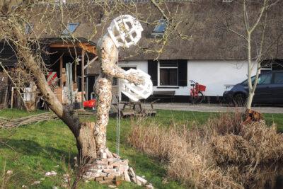 Sculptuur TheCollector ErnestBessems Vechtdijk project EXtuin