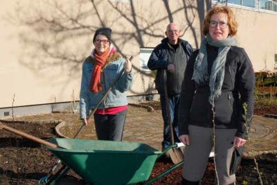 Amazonetuin vrijwilligers foto godfried van Utrecht