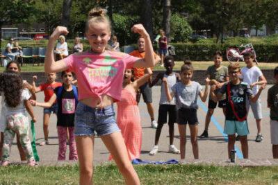 Kinderen basisschool op Dreef project move