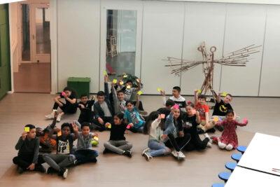 Kinderen johannesschool project vrijheid