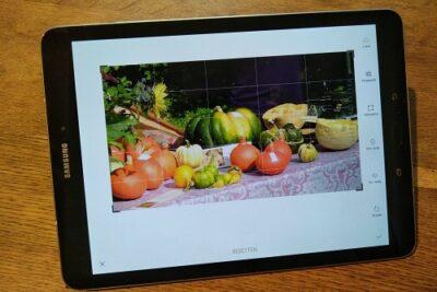 tablet fotobewerken