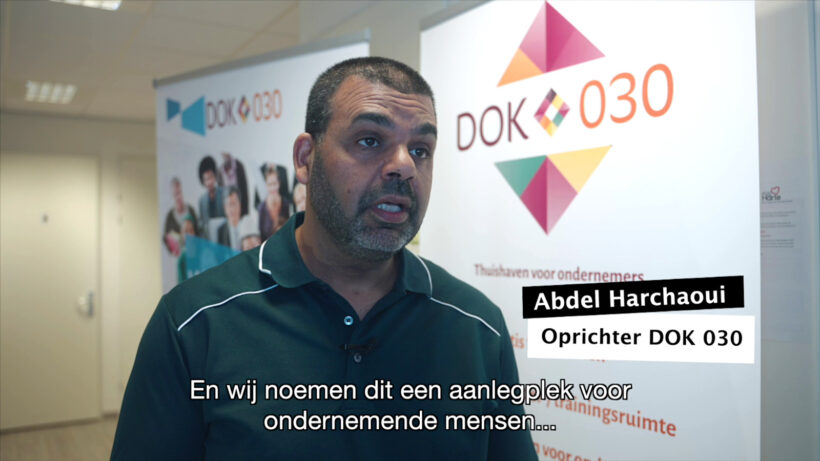 DOK 030 oprichter Abdel Harchaoui