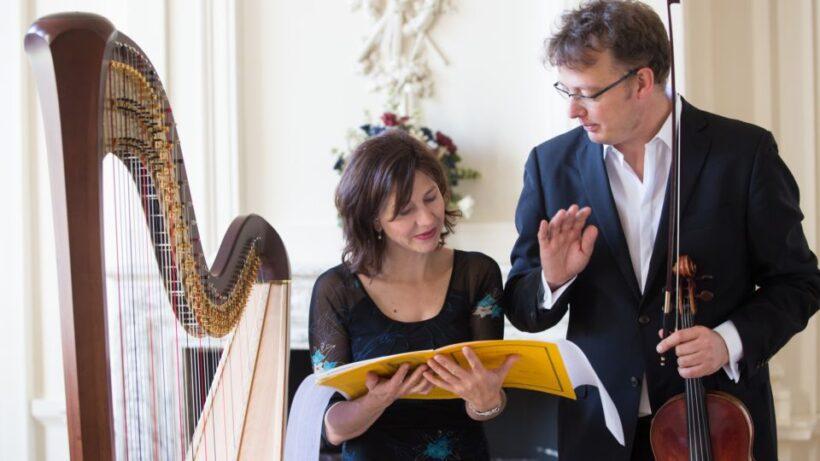 Appeltaartconcert: Sandrine en Michel